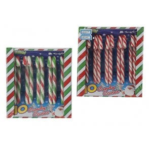 Xmas Col Candy Cane in Print- Pack of 10