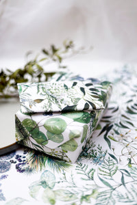 Frosted Forest gift wrap