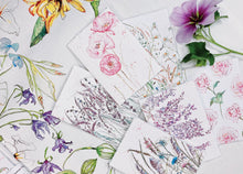 Load image into Gallery viewer, Mixed floral mini cards