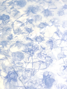 Powder Blue tissue paper