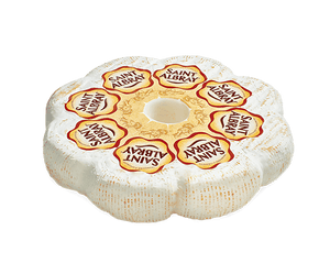 Saint Albray Cheese Wheel  4.4 Pounds per Wheel - 2 per Case