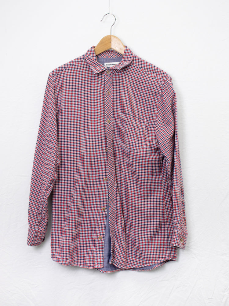 Country Road Checked Shirt - Size S