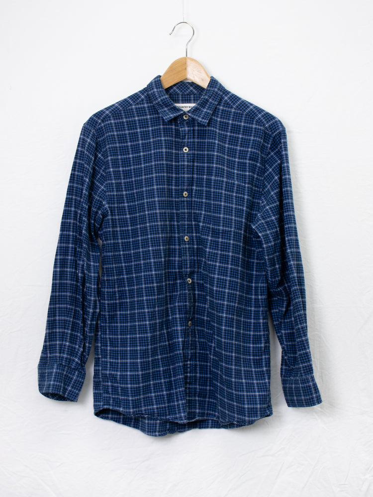 Country Road Checked Flannel Shirt - Size S