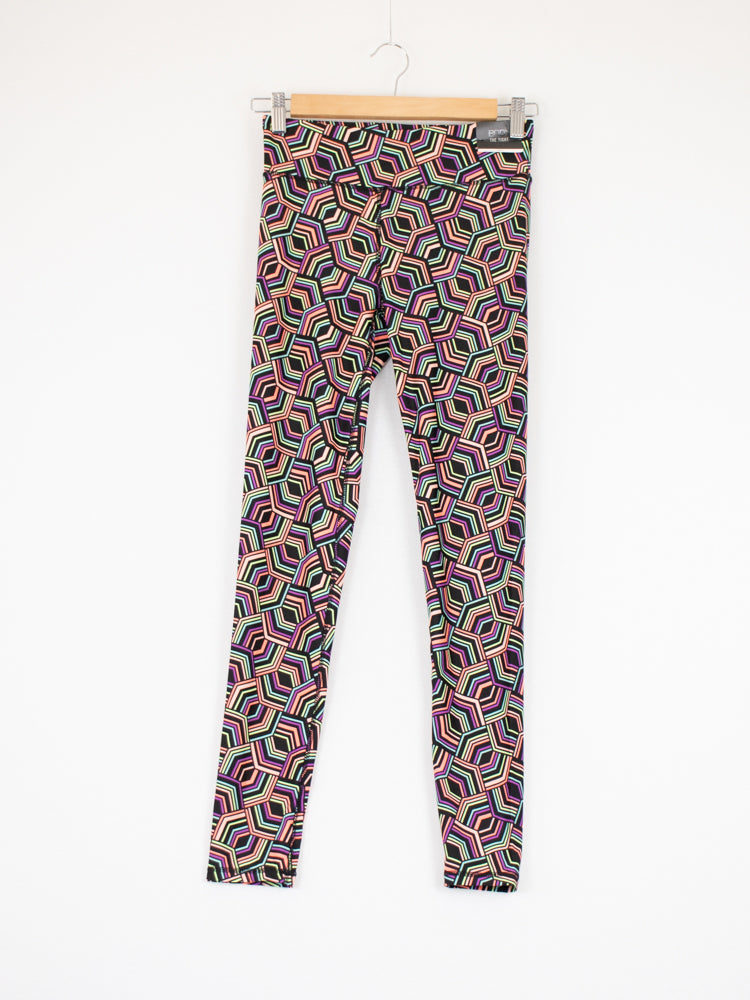Cotton On Multi-coloured Sports Leggings - Size S