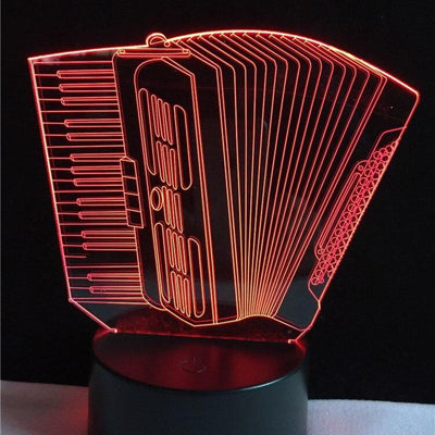 Lampe Led 3D Accordéon