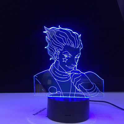Lampe 3D LED Hunter X Hisoka