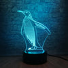 Lampe Led 3D Penguin