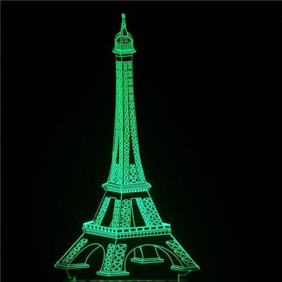 LAMPE LED 3D Tour Eiffel