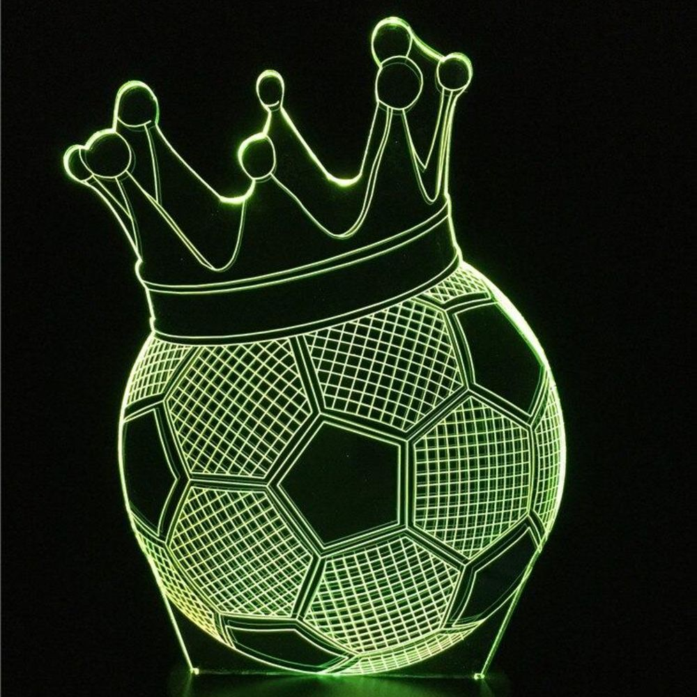 LAMPE LED 3D Ballon de Foot