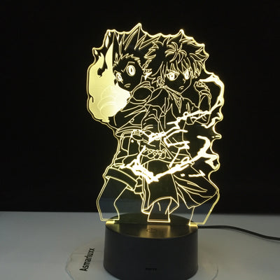 Lampe 3D LED Hunter X Killua Zoldyck