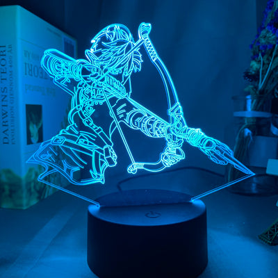 Lampe 3D LED The Legend of Zelda Arc
