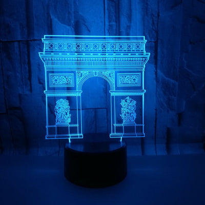 LAMPE LED 3D Arc de triomphe