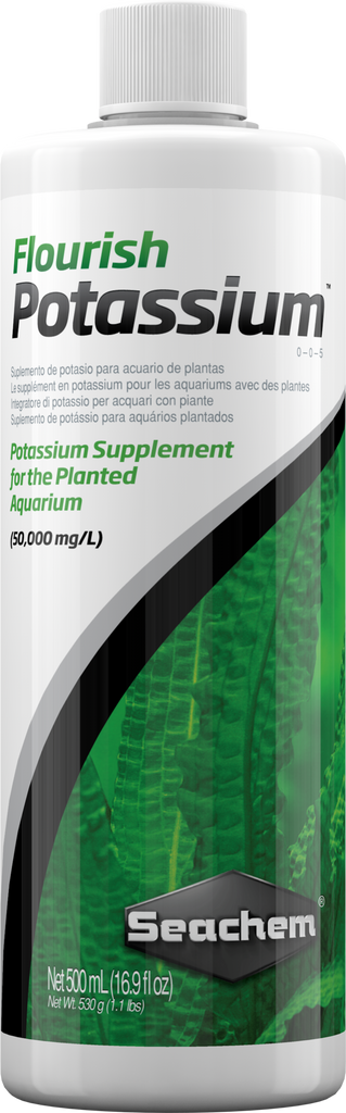 Seachem Flourish Potassium 500ml - Nature Aquariums