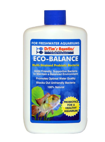 Dr Tims Eco Balance H2O - Freshwater, 120ml Treats 454 litres - Nature Aquariums