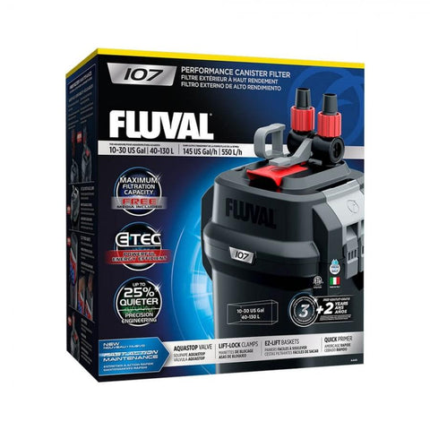 Fluval 107 Canister Filter - Nature Aquariums