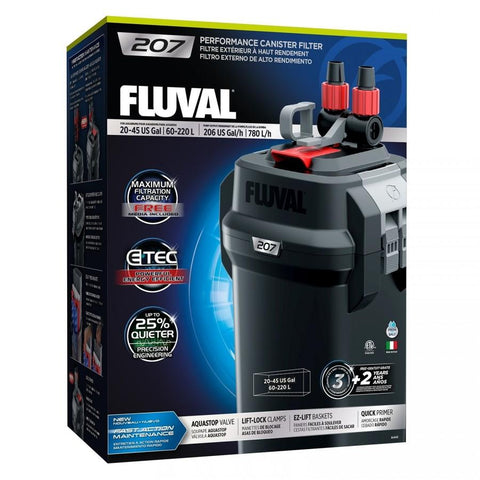 Fluval 207 Canister Filter - Nature Aquariums