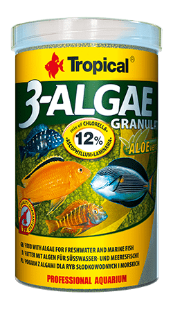 3-Algae Granulat (2mm granulat)100ML/38G - Nature Aquariums