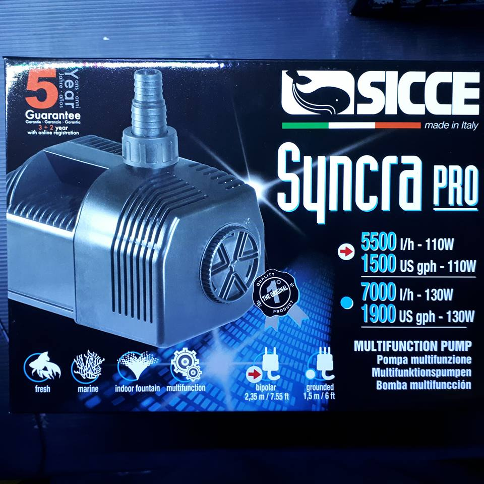 Sicce Syncra Pro Pumps - Nature Aquariums