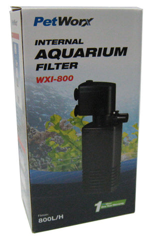 Pet Worx 800 Internal Filter - Nature Aquariums