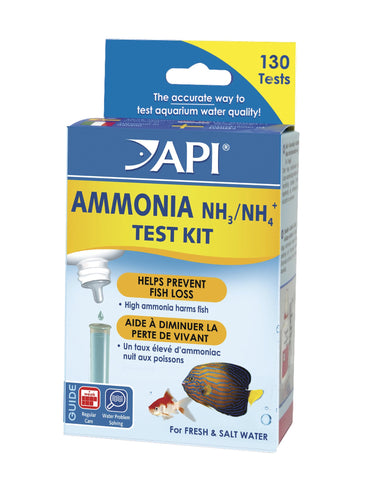 Ammonia Test Kit - Fresh/Saltwater - Nature Aquariums
