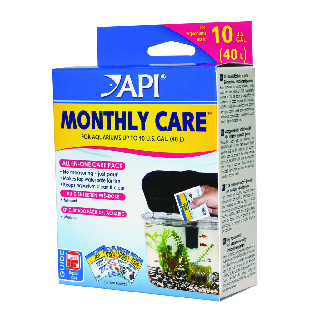 API Monthly Care - Maintenance - Nature Aquariums