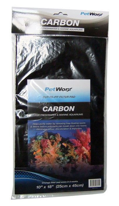 "Carbon Filter Pad 10""x18"" - Nature Aquariums"