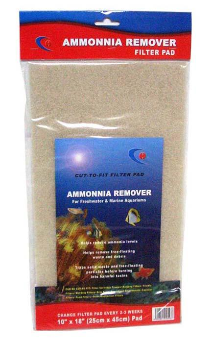 "Ammonia Remover Pad 10""x18"" - Nature Aquariums"