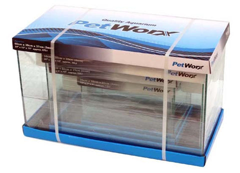 "Pet Worx 20""x10""x12"" Aquarium 4mm 39Lt - Nature Aquariums"
