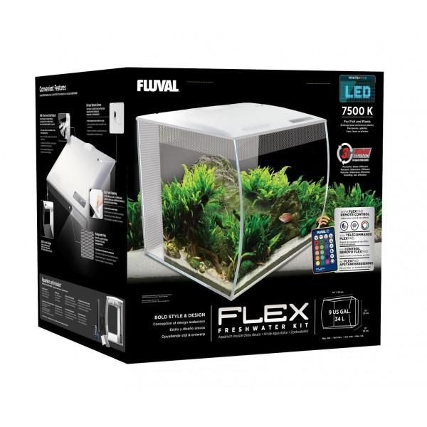 Fluval Flex Aquarium Unit - Nature Aquariums