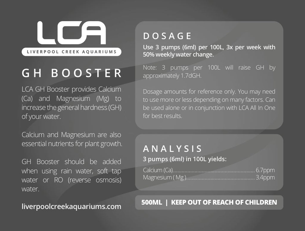 LCA GH Booster 500ml - Nature Aquariums