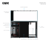 CADE Reef Peninsula - S2/P 1500 - Nature Aquariums