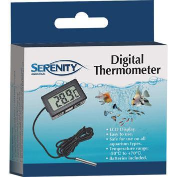 Serenity Digital Thermometer - Nature Aquariums