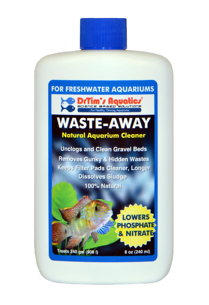 Dr Tims Waste Away H2O- Freshwater, 240ml Treats 908 litres - Nature Aquariums
