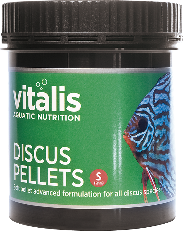 Vitalis Discus Pellets S 120g - Nature Aquariums