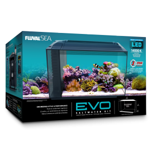 Fluval EVO 52 Litre Saltwater All in One Kit - Nature Aquariums