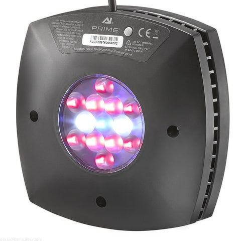 Aqua Illumination Prime FUGE LED Light Black - Nature Aquariums