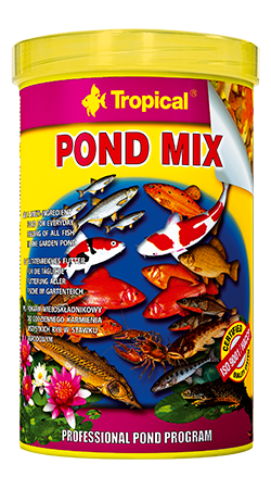 Pond Flakes tin 1000ML/145G - Nature Aquariums