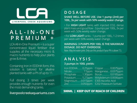 LCA All In One Premium+ 500ml