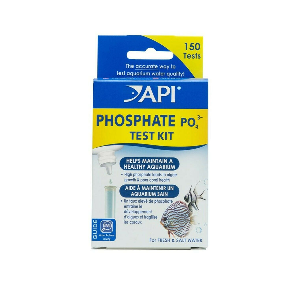 API Phosphate Test Kit - Liquid - 1.25oz Fresh/Saltwater - Nature Aquariums