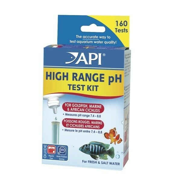 API pH High Range Test Kit - Fresh/Saltwater - Nature Aquariums