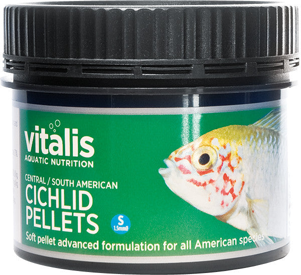 Vitalis Cichlid Pellets (Central/South America) S 120g - Nature Aquariums