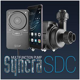 Sicce Syncra SDC - Controllable pumps by integrated Wi-Fi