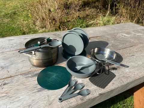Large Stainless Mess Kit Rental