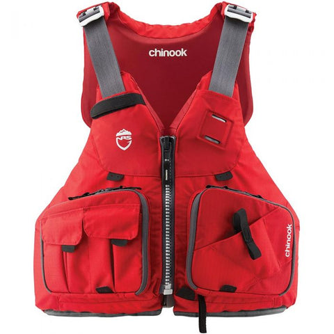 NRS - Chinook - Fishing PFD XS/M Red