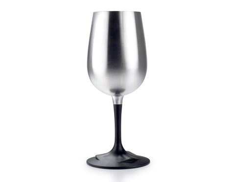 GSI Glacier Stainless Nesting Wine Glass