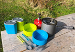 Lightweight Mess Kit / Camp Stove Combo - Rental