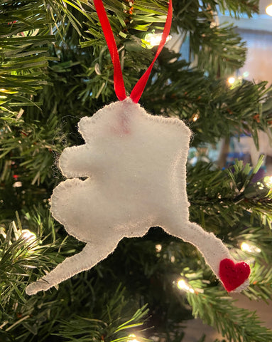Lost & Exploring Felt Ornaments
