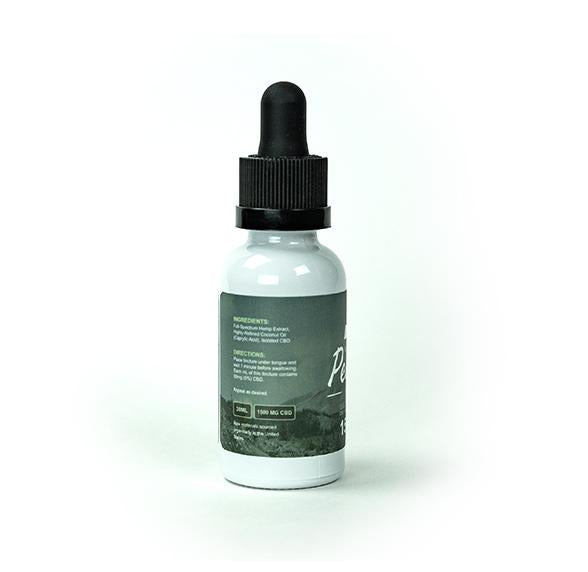 1500MG Full Spectrum Organic CBD Tincture By Naturally Peaked Health Co