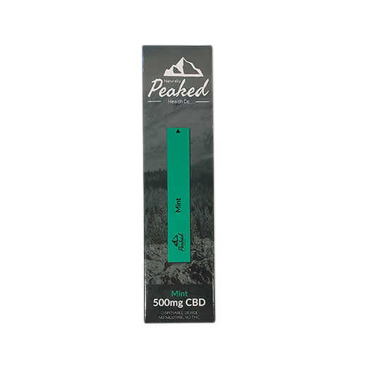 Mint CBD Vape Pen 500mg 1.3 mL