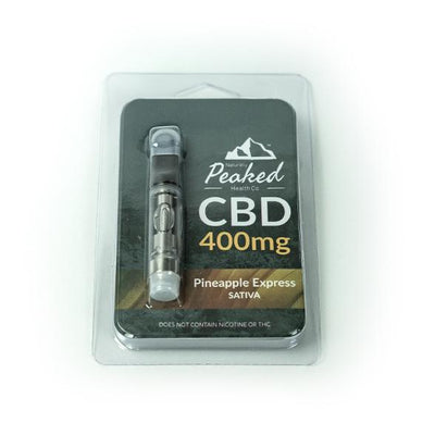 400MG CBD Vape Cartridge | 510 Threaded | Naturally Peaked CBD